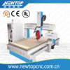 4-Axis Rotary Woodworking CNC Router Machine