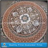 Natural Marble Stone Waterjet Mosaic Pattern, Mosaic Medallion Floor Tiles