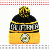 Custom Patch Embroidery Jacquard Beanie Hat