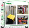 Convenient Foldable Plastic Luggage Trolley Plastic Rolling Box