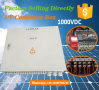 IP65 Waterproof PV Strings Combiner Box 16 in 2 out for 1000V DC System
