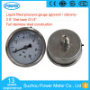 63mm Full Stainless Steel Pressure Gauge with Glycerin Oil