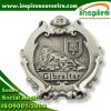 Customized Tin Plated Badge for Gibraltar Market (B 624)