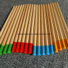 Hb Triangle Barrel Nature Wood Pencil