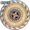 Landscape Project Mosaic Medallion Pattern Marble Stone