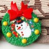 Merry Christmas Santa Claus Refrigerator Magnets