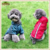 Pet Clothes Coldproof Waterproof Dog Raincoat with Fleece Inside (KH0015)