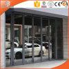 Sliding Aluminum Balcony Door, American Design Thermal Break Aluminium Folding Door, Double Glazing Fully Tempered Glass Door, Sliding Patio Door