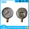 2.5'' 63mm 0-40 Bar Stainless Steel Oil Filled Manometer