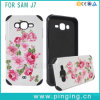 Factory Direct Sale Drop Armor Touch Coloured Drawing or Pattern 2 in 1 for Samsung S7edge Case