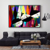 Modern Colorful Abstract Canvas Prints