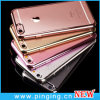Crystal Clear Electroplated TPU Phone Case for iPhone 7/6 Plus