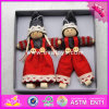 2017 New Products Lovely Characters Wooden Girls Christmas Toys W02A234