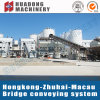 Large Angle Belt Conveyor with High Capacity