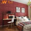Self-Adhesive 3D Brick Stone Foam Wallpaper for Home Decoration