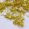 Craft Shining Golden Leaf Shreds for Decoration
