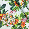 Fresh Flower Patterns 250GSM Heavy Canvas Fabric