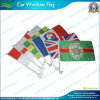 Cheap Car Flag with 43cm Car Flag Pole (A-NF08F01013)