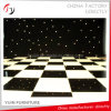 2017 Latest Black and White Event High Gloss Dance Floor (DF-16)