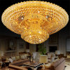 Contemporary Rose Gold Crystal Ceiling Lights for Home Project Lighting Fixtures (WH-CA-27)