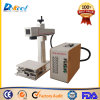 Portable Metal Fiber Laser Marking Engraving Machine Marker with Moving Table
