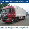 Cimc Insulation Box with 8*4 Shacman Chassis Refrigerated Van