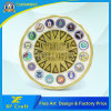 Professional Custom Die Casting Cut Edge Souvenir Challenge Coins with Any Logo (XF-CO19)