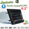 Carplay Android 7.1 Auto DVD Player for Prosche Cayman GPS Navigatior with WiFi Connection Hualingan Android Phone Connections