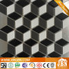 Black, White, Grey, Rhombus Shapes Ceramic Mosaic (C655127)