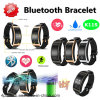 Long Standby Bluetooth Smart Silicone Bracelet with Fitness Tracker K11s