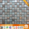 Normal Size Square Stone Marble and Glass Mosaic (M823064)