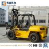 7tons Diesel Forklift Isuzu Engine, Okamura Transmission, 2-Stage 5m Mast