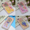 for iPhone 8 Bling Liquid Glitter Floating Quicksand Mobile Phone Case