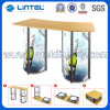 Lintel Portable Aluminum Advertising Counter (LT-07B2)