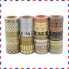 Somitape Golden and Silver Printed Washi Tape for DIY Craft and Scrapbooking Use