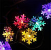 C Shape Wedding Party Multicolorful Ground Wall Solar String Strip Decoration LED Bulb Ball Lantern Lamp Light