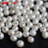 8-9mm Round Big Holes Drilled Freshwater Pearls Strands for Sale