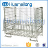 Industrial Folding Stackable Equipment Steel Storage Roll Cages