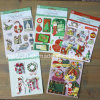 Customize 3D Dimensional Scrapbook Handmade Paper Stickers Christmas 3D Stickers