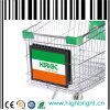 Shopping Trolley Grocery Carts Advertising Board Frame