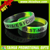 Customized Rubber Bracelets with Army Color (TH-band062)
