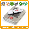 Custom USB Flash Disk Tin Box with Clear PVC Window