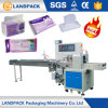 Full Automatic Disposable Cleansing Facial Mask Packaging Flow Packing Machine
