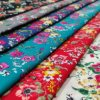 Textile Fashion 100 Cotton Poplin Woven Plain Printing Fabric for Home Textile and Garment Fabric ...