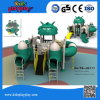 Latest Cute Outdoor Playground Robot Series Slide and Climbing Equipment for Kids