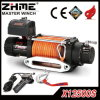 12500lbs Powerful Synthetic Rope Electric Winch for off-Road