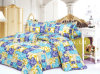 Poly Microfiber Quilt Bedding Sets Fabric High Weight