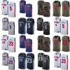 Detroit Pistons 5 Luke Kennard 23 Blake Griffin Basketball Jerseys