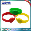 Lf RFID Wristband for Events, Tk4100 Chip Silicone Waterproof Bracelet