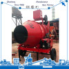Small Jzr Series 350 Liter Portable Good High Quality Mobile Diesel Motor Drum Concrete Mixer